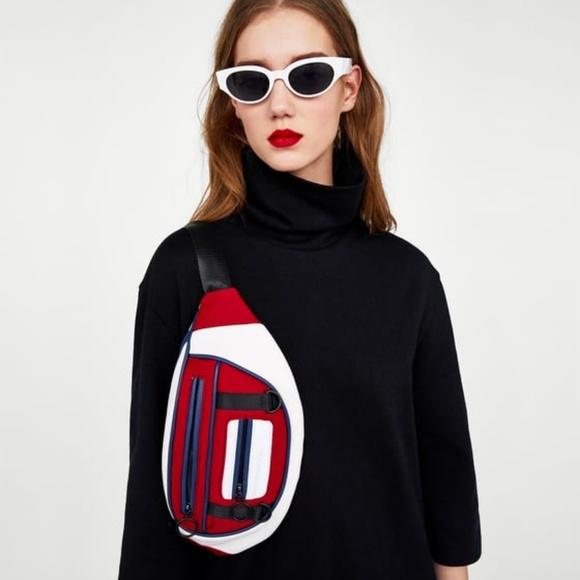 Zara Handbags - NWT Zara Colorblock Sporty Fanny Pack